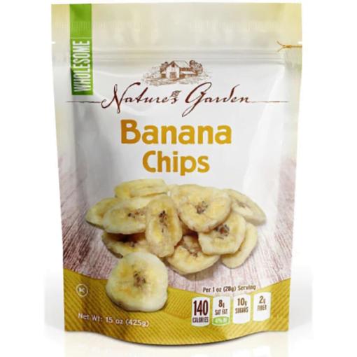 banana chips packing